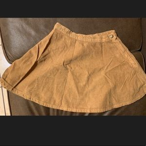 Corduroy skirt (size small)